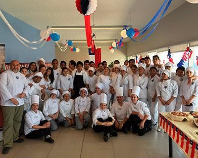"INACAP Antofagasta realiza Taller Gastronómico ""Empanadas de Chile"""