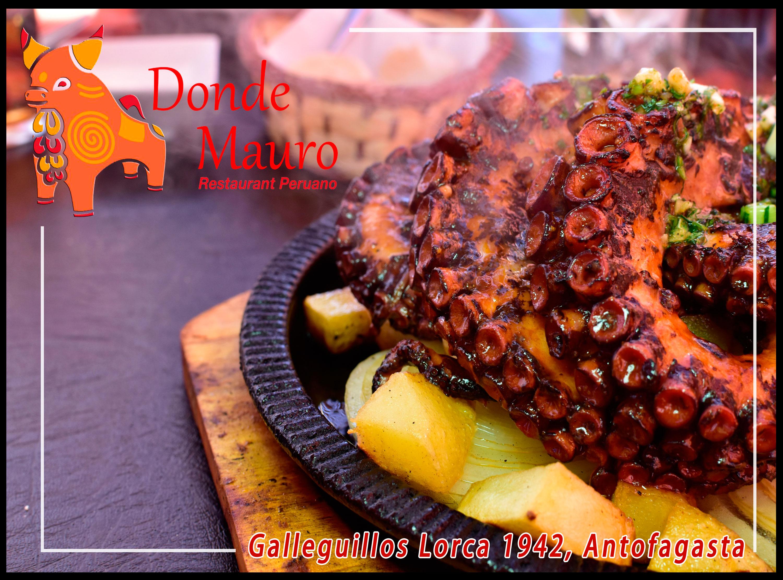 """Visite el restaurant Peruano """"Donde Mauro"""""""
