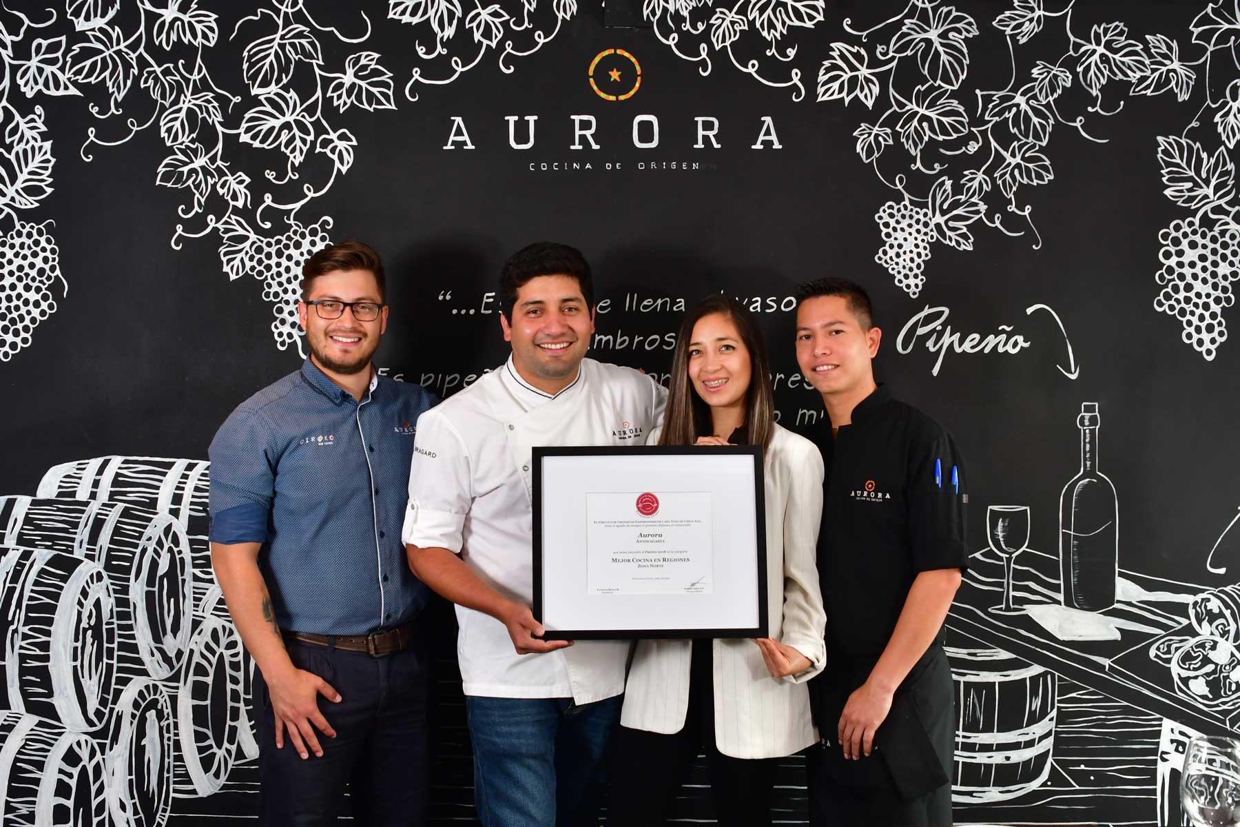Aurora, la mejor cocina del norte