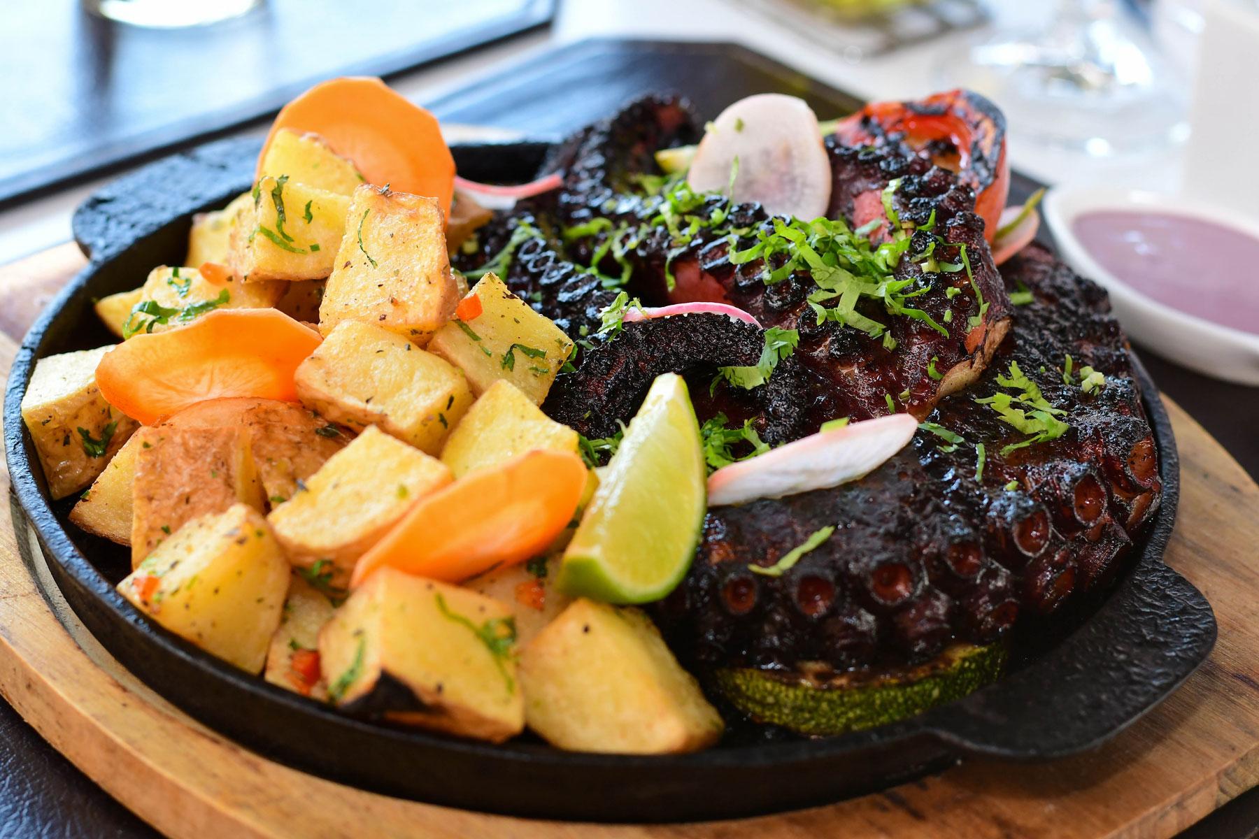 El nuevo Octopus Restaurante, una cocina de territorio
