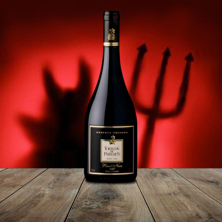 ¿Pinot Noir, la hizo el diablo?